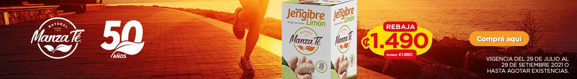 Té Jengibre- Limón